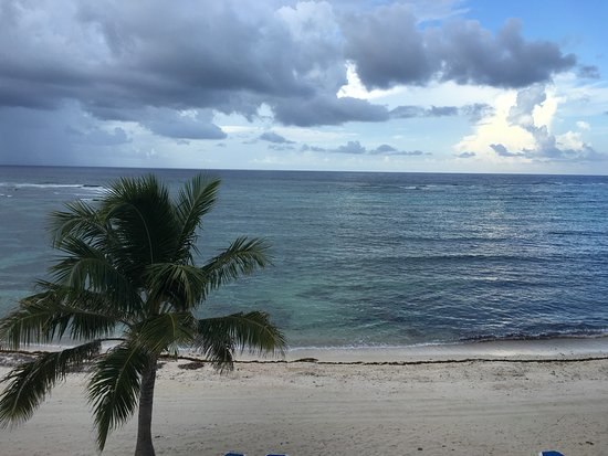 Wyndham Reef Resort: View from our room.