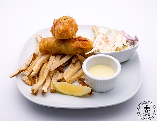 Barrie, Kanada: Fish & Chips