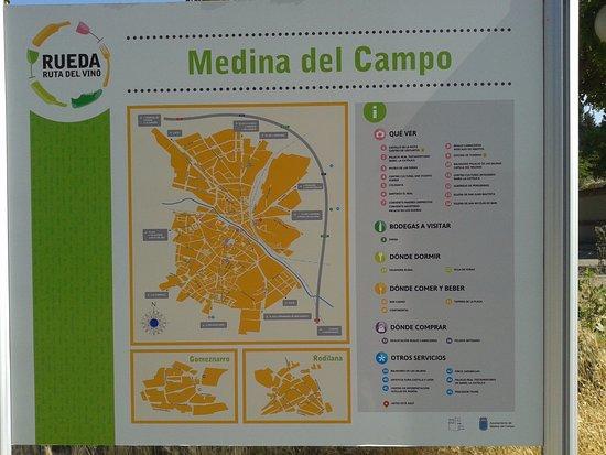 Medina Del Campo Mapa.Foto De Castillo De La Mota Medina Del Campo Mapa