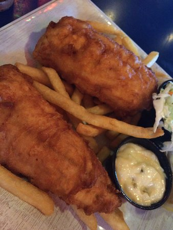 Villager Pub: Fried whitefish