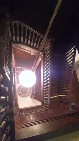Marion, KS: Grand staircase from third floor