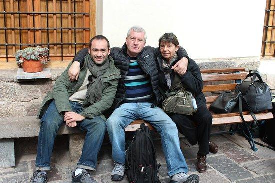 Gran Hostal Machu Picchu: Al momento de llegar a la Hosteria