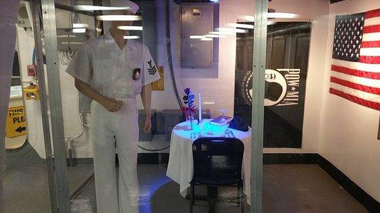 USS LEXINGTON: POW Memorial Table