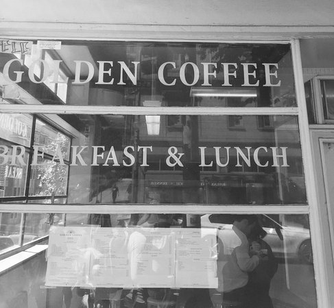 Golden Coffee Shop Picture