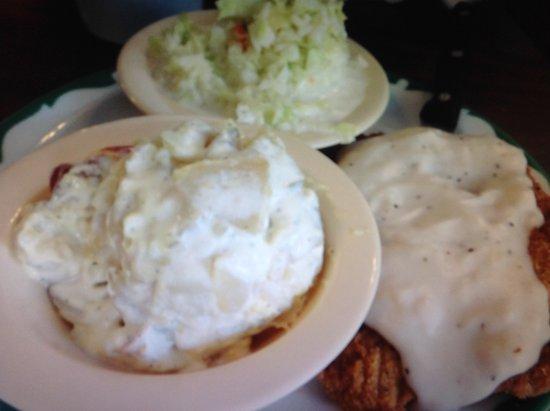 Sebring, FL: Country fried steak