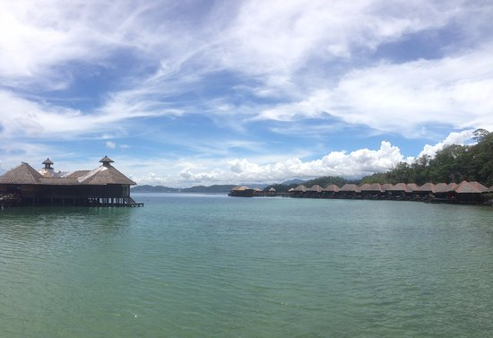 Pulau Gaya, Malaysia: View from kajak