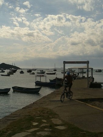 بوزيوس: O mar sempre belo.