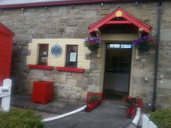 Donegal Railway Heritage Centre: Entrance to the Museum