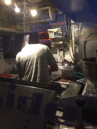 Leesburg, VA: Reclaimed B17 tiny kitchen doing good solid food
