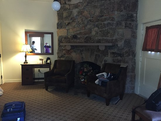 Many Glacier Lodge: Our Refurbished Room with a View