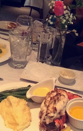 Mile High Steak and Seafood : Crab stuffed lobster tail