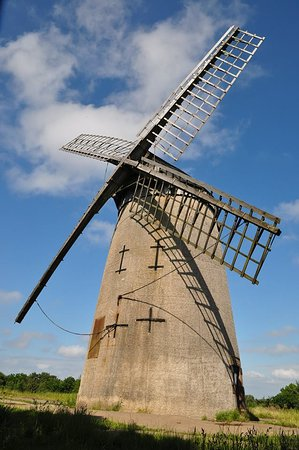 Wirral, UK: The Bidston Windmill