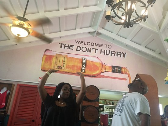 Frederiksted, St. Croix: My family had a great time touring Cruzan Rum Distillery.  Our tour guide Chelley was very infor