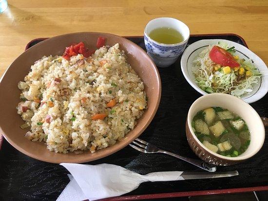 Nankoku, Japón: 焼き飯大盛り
