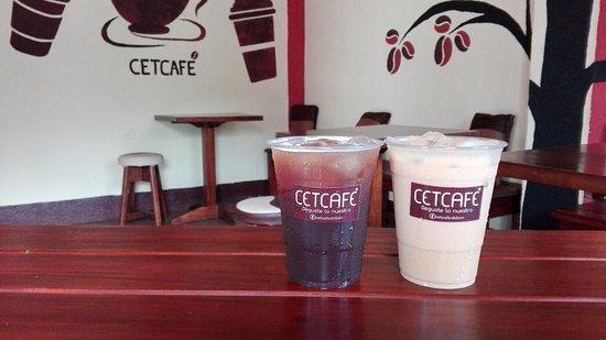 Santiago Atitlan, Guatemala: Cold coffee