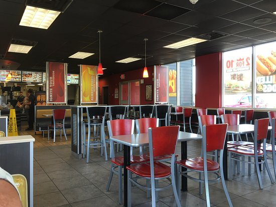 Port Jervis, NY: The interior of Burger King
