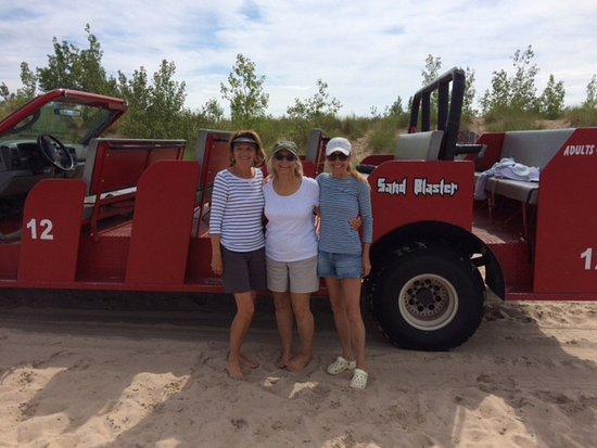 Mac Wood's Dune Rides : Dune buggy ride by Lake Michigan!