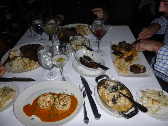 Del Frisco's Double Eagle Steak House: all so good!