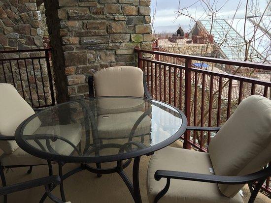 Hamburg, NJ: Views from balcony and patio.