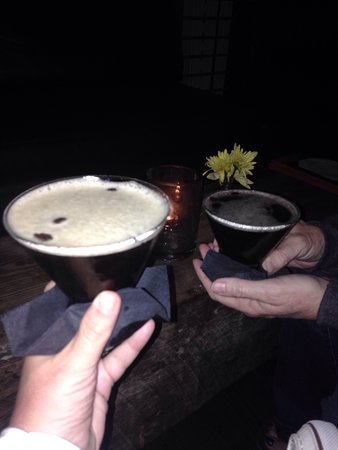 Harbor Lounge : Espresso Martini's! YUM!!
