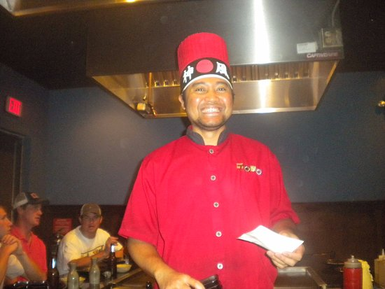 Toyo Japanese Sushi & Hibachi: Our chef