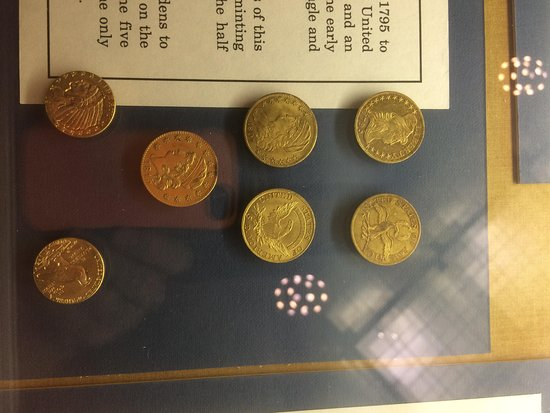Connecticut State Library and State Archives: rare gold coins