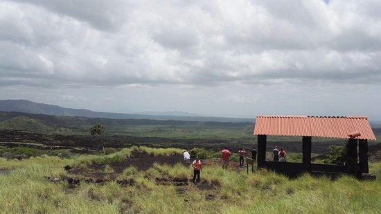 Masaya, Nikaragua: lávové pole