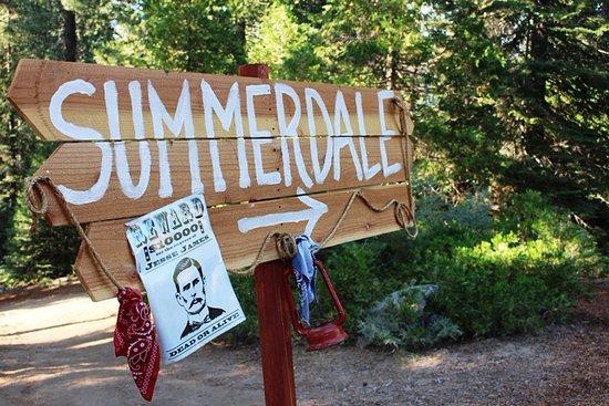 Tenaya Lodge at Yosemite: Trail to Summerdale dining