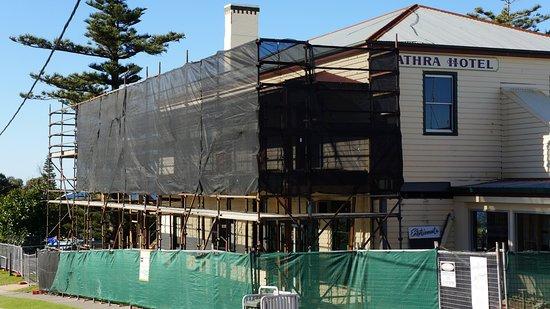 Tathra, Australia: Renovations continuing until late 2016.