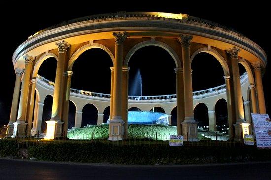 Utsav Chowk (Kharghar) at night