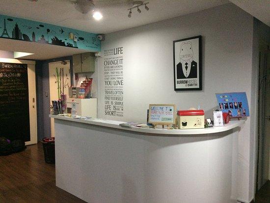 reception area picture of burrow hostel at smith singapore rh tripadvisor com sg