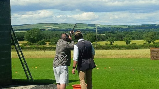Felton, UK: Bywell shooting ground