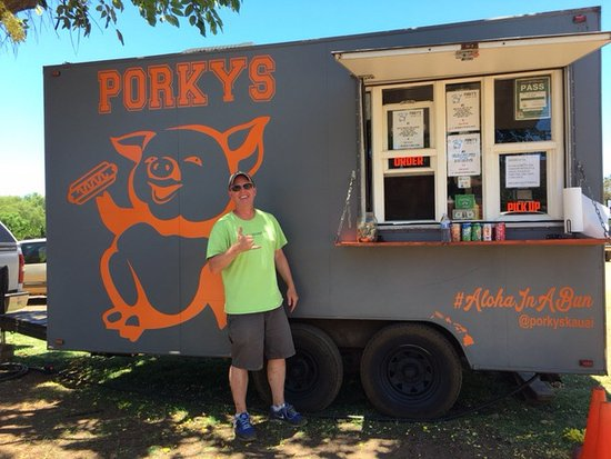 Porkys Kauai The Famous Food Truck