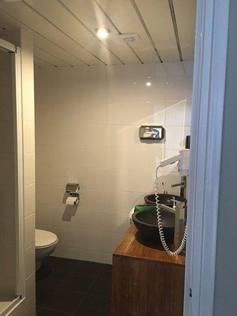 1 spotje voor de hele badkamer - Foto van Saillant Hotel Gulpen ...