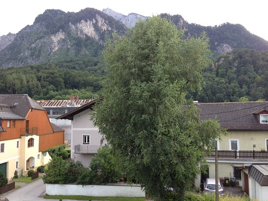 Grodig, Austria: A view from the room's balcony