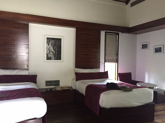 The Serai: The room with double beds