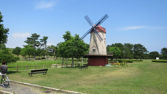 Enshunada Kaihin Park: 公園の風車