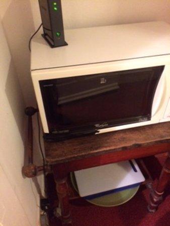 Newhall Broken Microwave