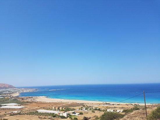 Falassarna, กรีซ: from parking