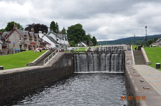 Fort Augustus, UK: The Caledonian Canal