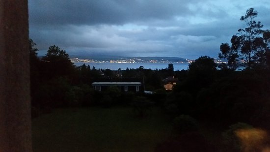 Хеленсбург, UK: Evening view from the room