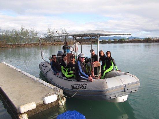 Poindimie, Nowa Kaledonia: About to depart.