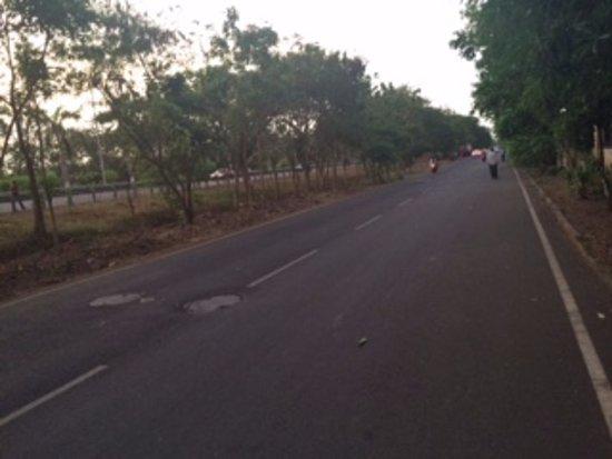 Navi Mumbai, Indie: Jewel -Palm Beach Road views