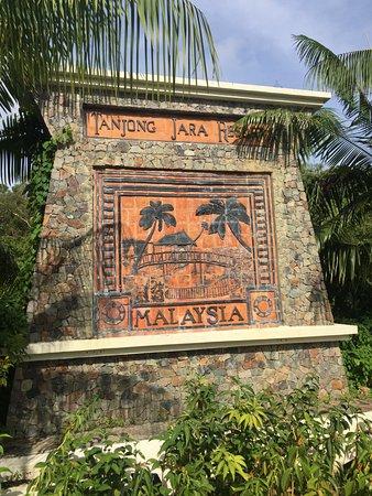 Tanjong Jara Resort: Entrance to resort