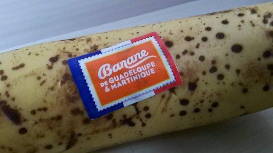 Hotel Le Nautilus: Alle Produkte sind regional, sogar die Banane kommt aus Frankreich!