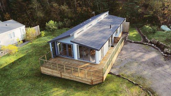 Kippford, UK: Reiver Glen Mhor Lodge