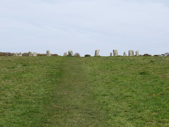 Lamorna, UK: Merry Maidens stone circle
