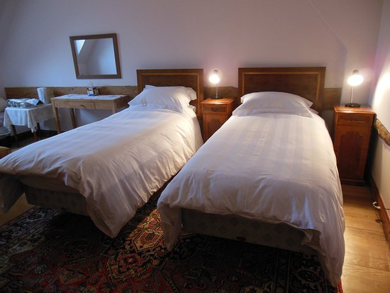 Sandy, UK: Twin room