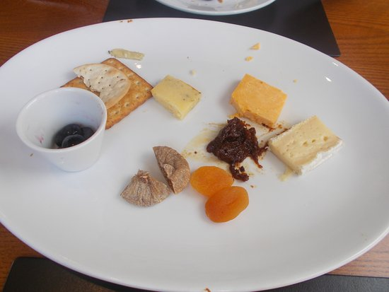 Bradwell, UK: Halfway through the cheeseboard