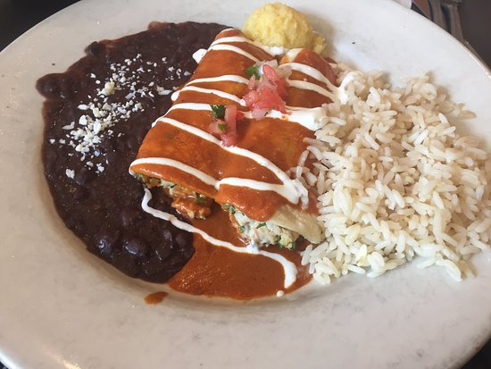 Blue Crab And Shrimp Enchiladas Picture Of Blue Mesa Grill Fort Worth Tripadvisor